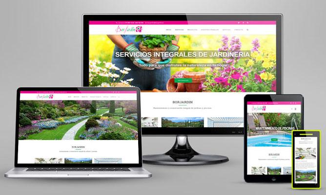 Borjardín: nueva web