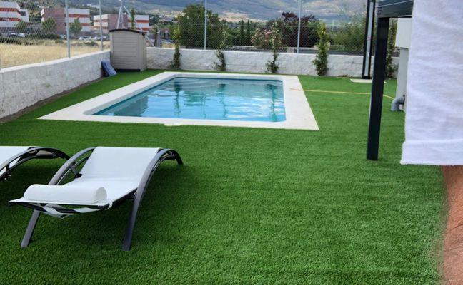 Instalación de césped artificial Guadarrama.p